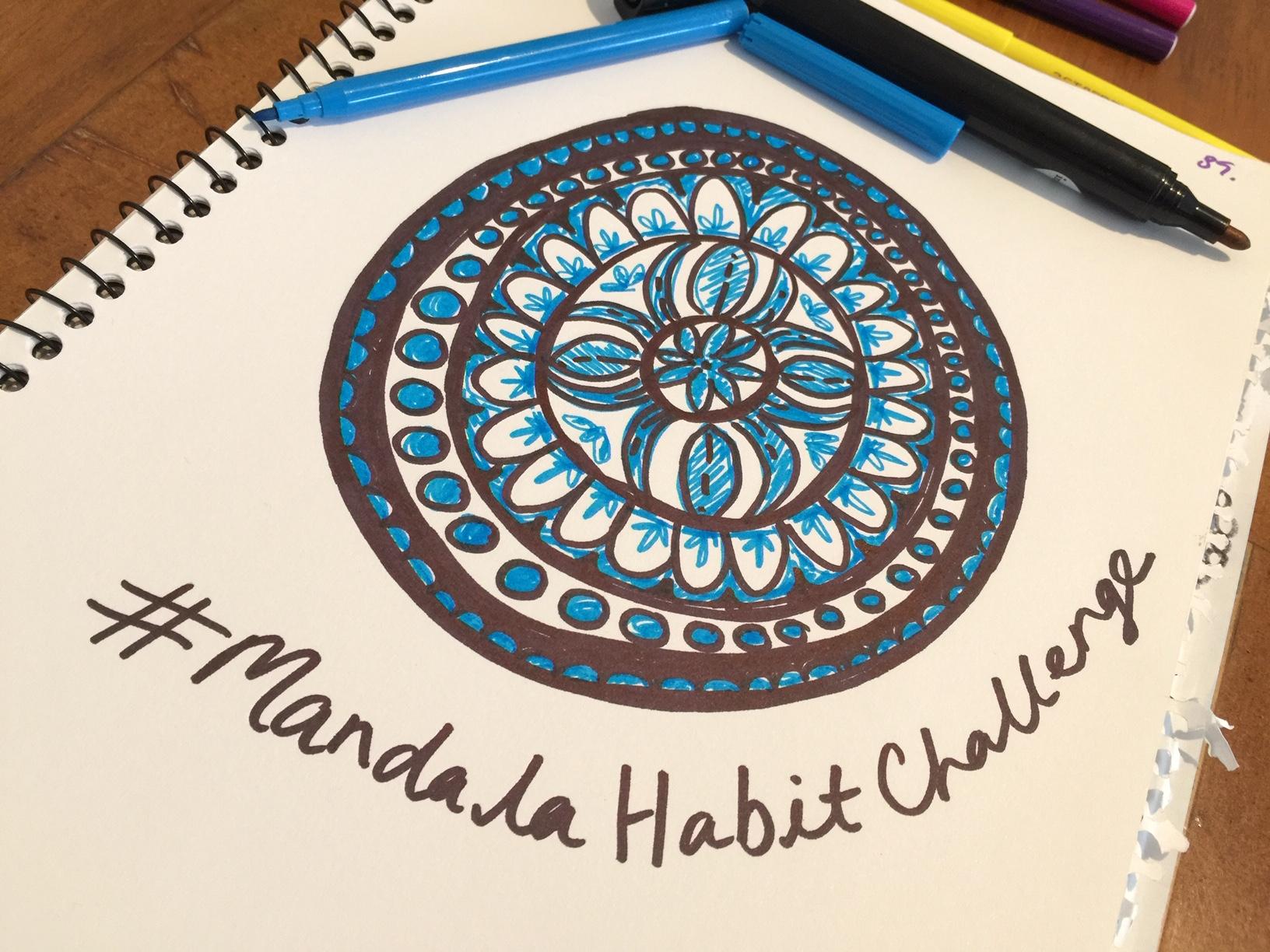 The 21-Day Freehand mandala Habit challenge